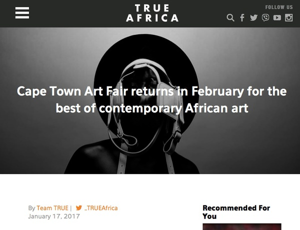 Cape town art fair 2017 booth a2 17 19 february 2017 for Craft fairs in ct december
